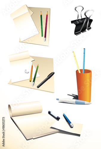 Fotografija Paper_pencils_pens