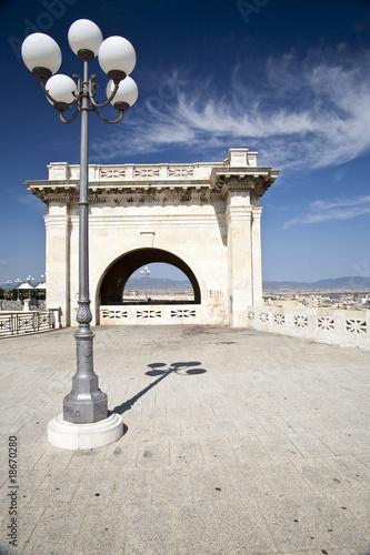 Fotografering  Bastione di Cagliari