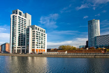 Modern Apartments And Business Centre In Liverpool
