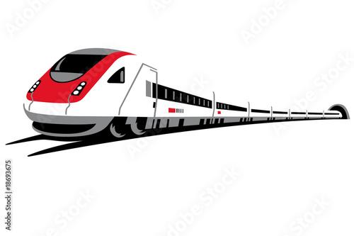 Plakaty pociągi   przechylny-pociag