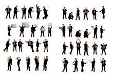 Silhouettes En Vecteur Business  - 45 Personnages