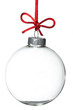 canvas print picture - Empty Christmas ornament