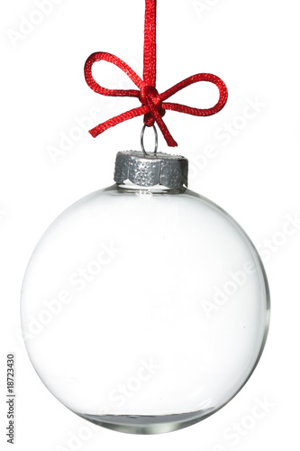 Fotografie, Obraz  Empty Christmas ornament