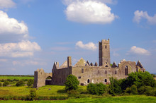 Famous Quin Abbey In County Cl...