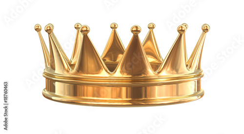 Fototapeta Golden crown