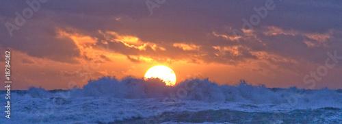 Fotografie, Tablou A stormy Porth Trecastell