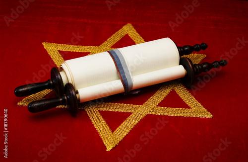 Jewish scroll Fototapet