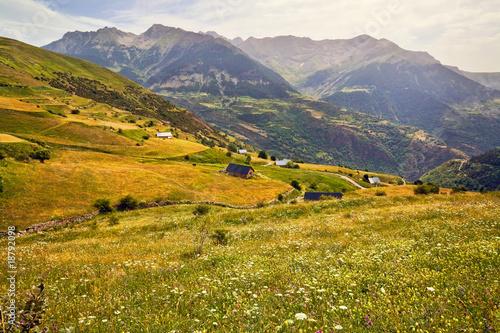 In de dag Zuid-Amerika land Pirineos