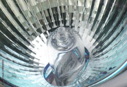 Obraz halogen lamp bulb close up or macro - fototapety do salonu