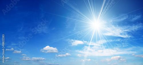 Obraz Bright sun - fototapety do salonu