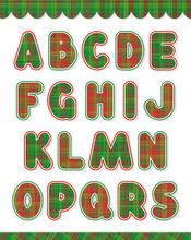 Christmas Alphabet Set, Part 1, Letters A - S