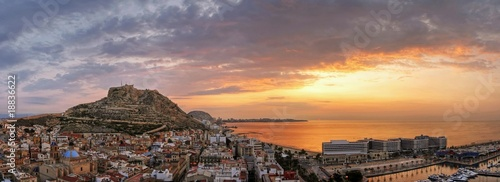 Photographie Alicante sunset