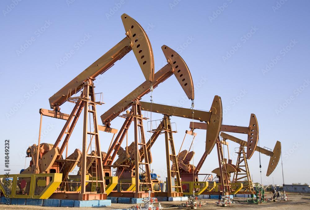 Fototapety, obrazy: oil field