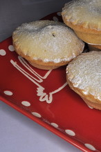 Three Stacked Mince Pies
