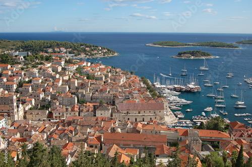 Widok na Hvar - Chorwacja - 18882469