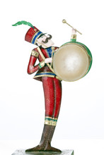 Toy Soldier Drum Player Isolat...