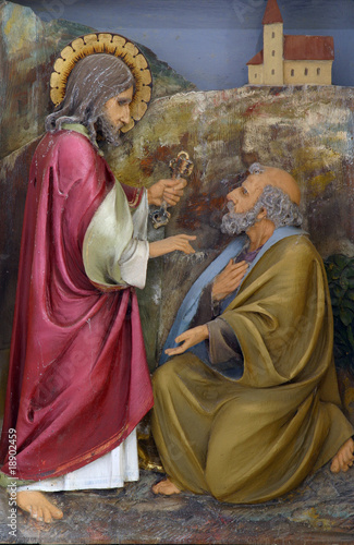 Photo Christ Handing the Keys to St Peter