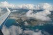 Durch die Wolken. Hawaii von oben