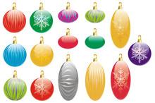 Art Glass Luxury Christmas Decorations