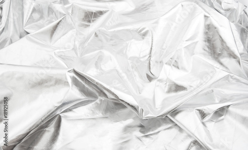 Keuken foto achterwand Fractal waves Universal abstract background of silver color