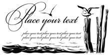Vector Card: The Seagull Sitti...