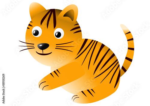 Poster de jardin Zoo tiger