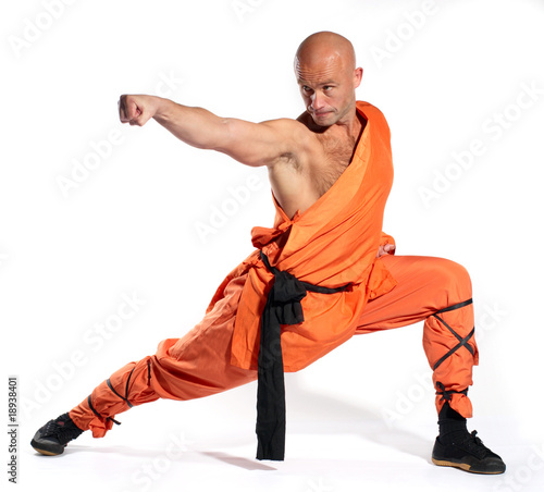 Fotografia  Shaolin warrior monk