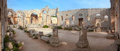 Fotomural Syria - Church of St. Simeon - Qal'a Sim'an