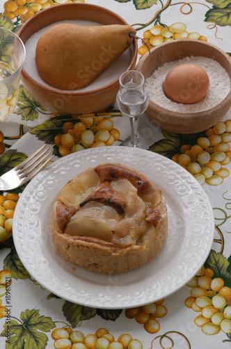 Torta de peri - Dolci - Cucina del Veneto – kaufen Sie dieses Foto ...