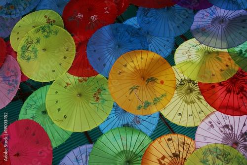 Poster Pekin China Schirme