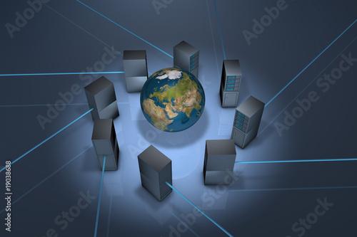Fototapeta Serwer Stron Internetowych obraz