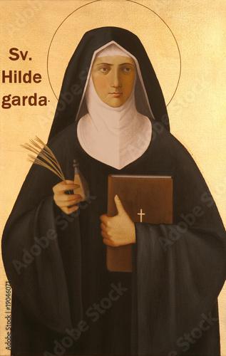 Blessed Hildegard von Bingen Canvas Print