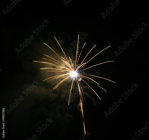 Fototapety, obrazy: Feuerwerk