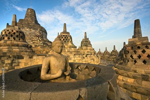 Foto op Plexiglas Indonesië Borobudur Temple, Yogyakarta, Java, Indonesia.