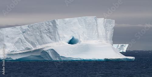 Printed kitchen splashbacks Antarctic Tabular Iceberg Floating, Antarctic Peninsula, Antarctica