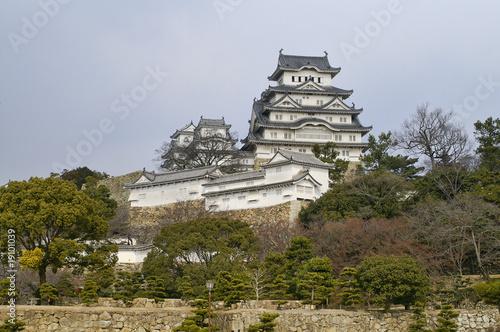 Foto op Plexiglas Japan Majestic Castle of Himeji in Japan.