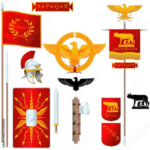 Valokuva  Roma Symbols