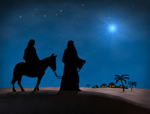 Bethlehem Christmas. Star In N...