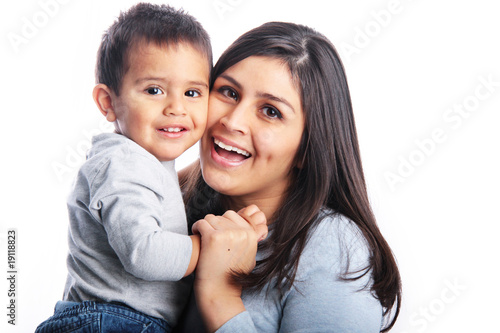 Fotografie, Obraz  Face to face with mommy