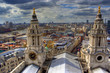 Skyline of London from the St. Paul Cathedral