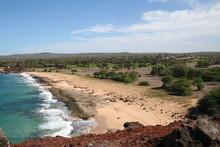 Beach Resort On The Island Of Molokai Hawaii
