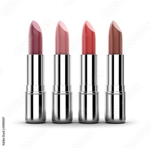 Fotografie, Obraz  Color lipstick