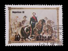 North Korean Mail Stamp Featur...