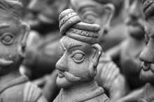 Clay Statues