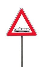 Segnale Di Attenzione Ferrovia