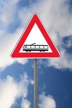 Segnale Di Pericolo Ferrovia S...