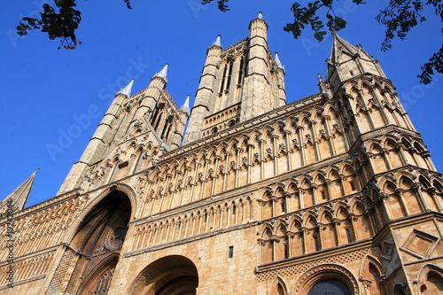 Fotografia  Catedral de Lincoln, East Midlands, Inglaterra