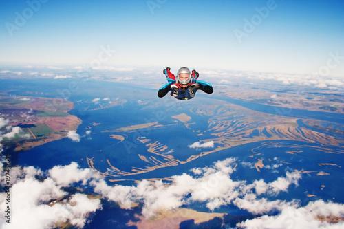 Obraz na płótnie Skydiver