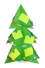 Isolated Cardboard Christmas T...