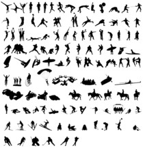 The Great Sport Silhouettes Co...